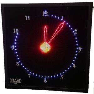 Analog Clock LED Display- T24M60